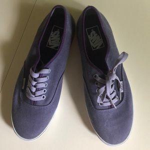 Lo-Pro Vans, purple